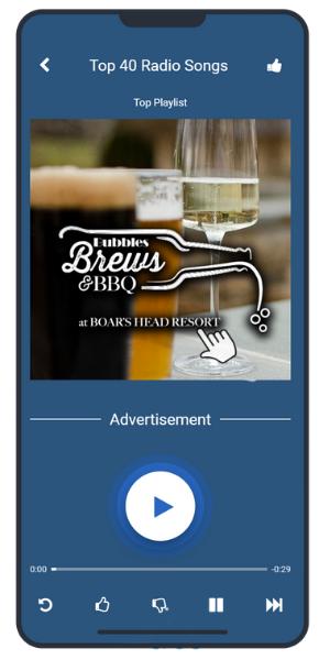 Boars Head Mobile Ad