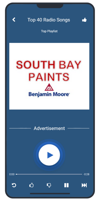 South Bay Paints Ad